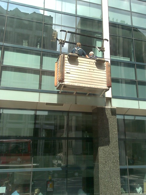 Bishopsgate window cleaning - Cleaning office windows in ...