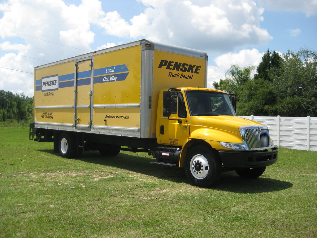 penske truck rates