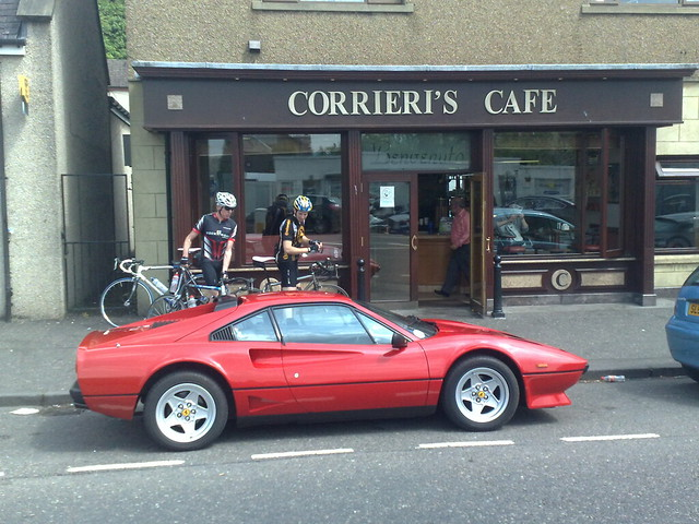 Seen today: 1985 Ferrari 208 turbo