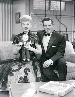 "Lucy and Desi with ""Little Ricky"" Doll"