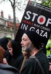 Protest at Israeli raid on Gaza aid convoy
