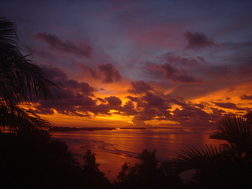 ocean travel nature sunrise potw solomonislands