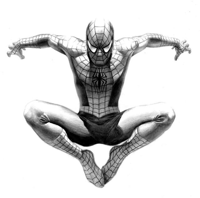 Spider-Man Sketch Art