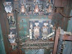 Old train engine