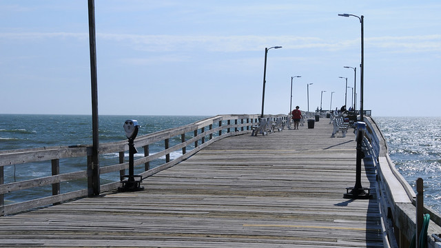 The virginia fishing pier flickr photo sharing for Fishing piers in va