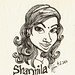 Caricature : Sharmila
