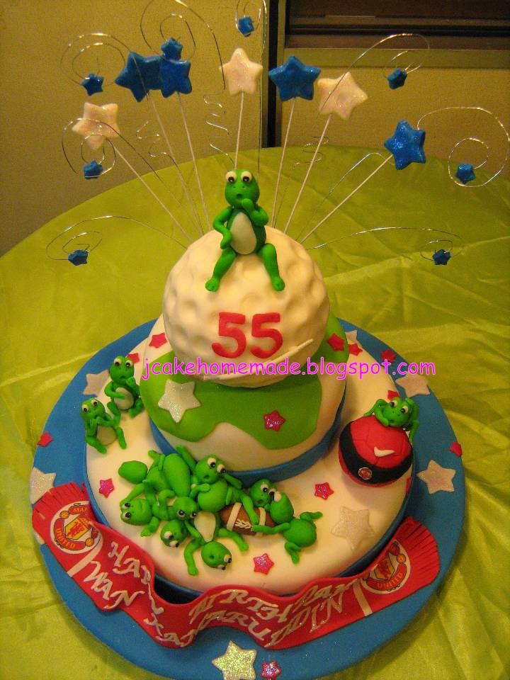 Pleasing Sport Birthday Cake Happy Birthday Wan Kamaruddin Thanks Flickr Birthday Cards Printable Benkemecafe Filternl