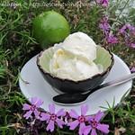 Eiscreme Rezepte ©Limetten-Mascarpone-Eis