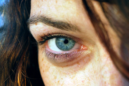 eye girl beautiful closeup sunrise blueeyes annie thechallengefactory