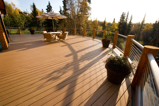 deck design ideas trex cedar hardwood alaskan0141 flickr photo