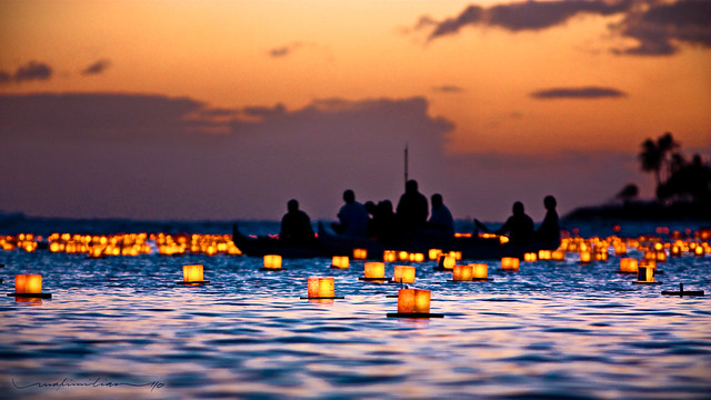 Lantern Floating Hawaii Ceremony (2010)