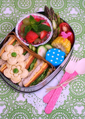 """picnic for one"" bento"