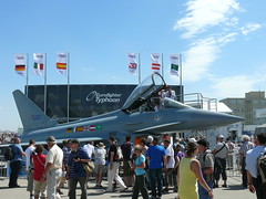 Eurofighter Typhoon: Probesitzen