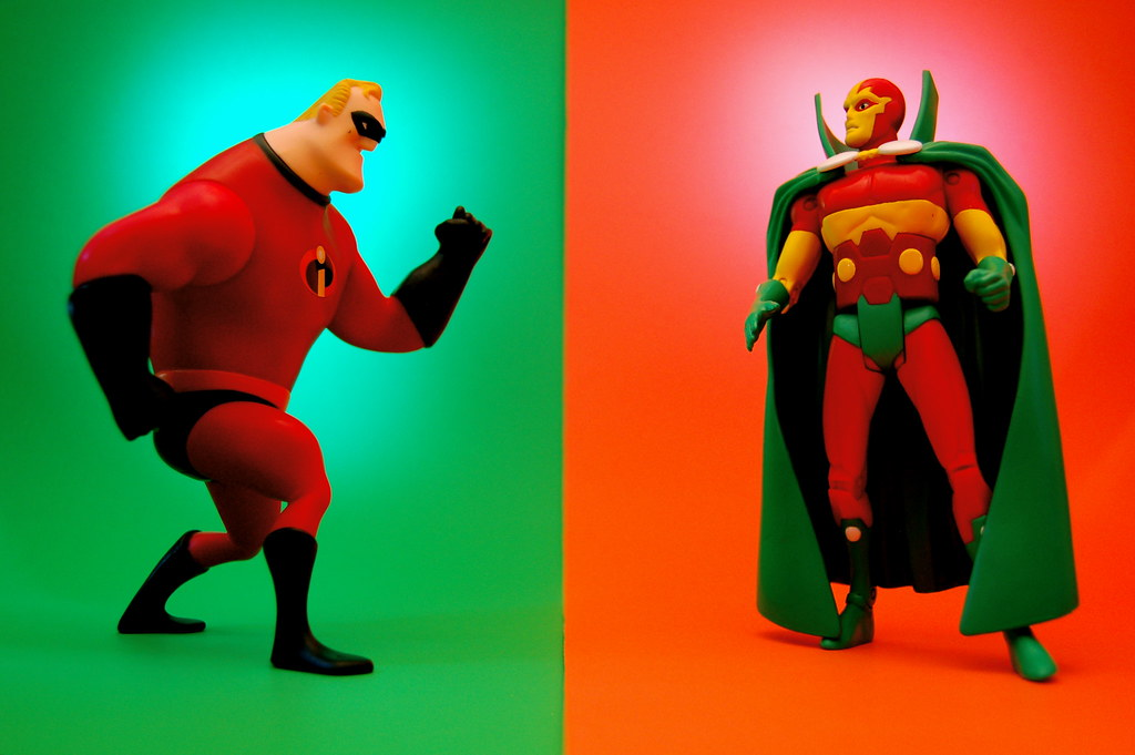 Mr. Incredible vs. Mister Miracle (167/365)