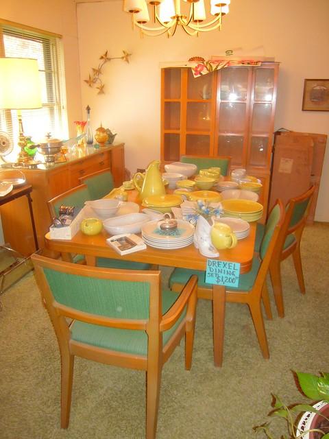 drexel dining room furniture 1960 | 1950's Drexel Dining Room Set - a photo on Flickriver