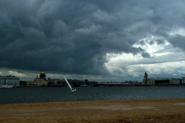 Saint Petersburg - Neva Beach