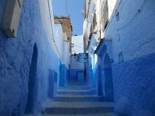 More Beautiful Old Medina, Chefchaouen, Morocco