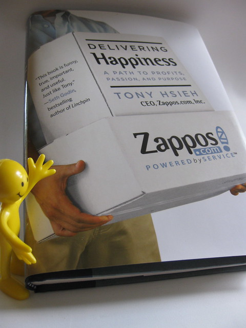 book report delivering happiness In delivering happiness, tony hsieh, the ceo of zappos, opens the door and lets anyone interested come in and learn about the secrets to his company's success this.