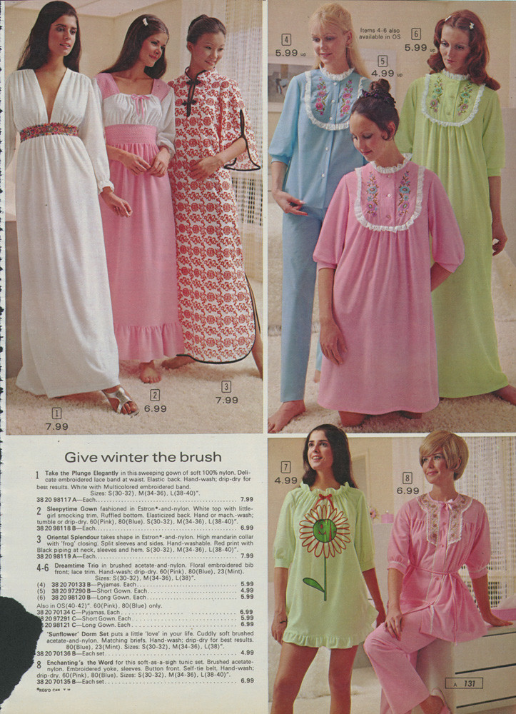 Sears  S Fashion Sleepwear