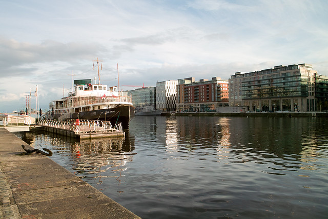 The mv cill airne dublin s floating restaurant bar on the river liffey flickr photo sharing - Advantages disadvantage buying replica nautical globe bar ...