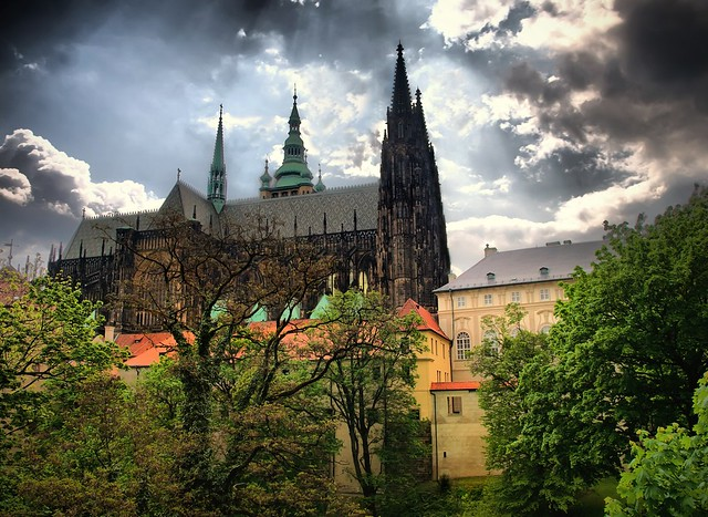 St Vitus' Cathedral, Prague...HDR