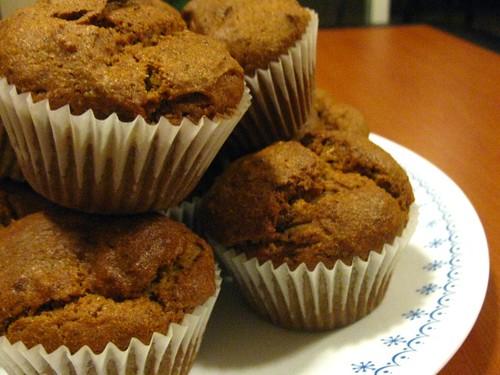 Gluten-free, vegan Pumpkin Muffins 2