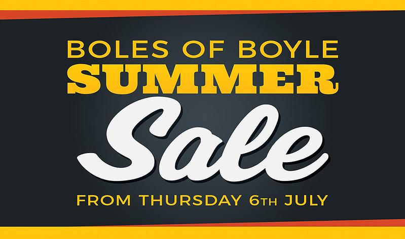Boles Summer Sale