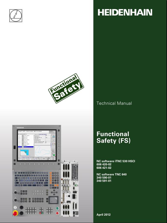 Heidenhain Technical and Service Manual books