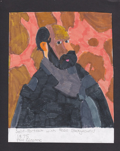Cezanne Self Portrait