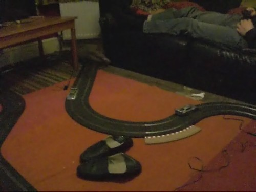 Cat Vs Scalextric