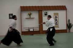 aikido, kenjutsu, iaidå, individual sports, contact sport, sports, combat sport, martial arts, japanese martial arts,