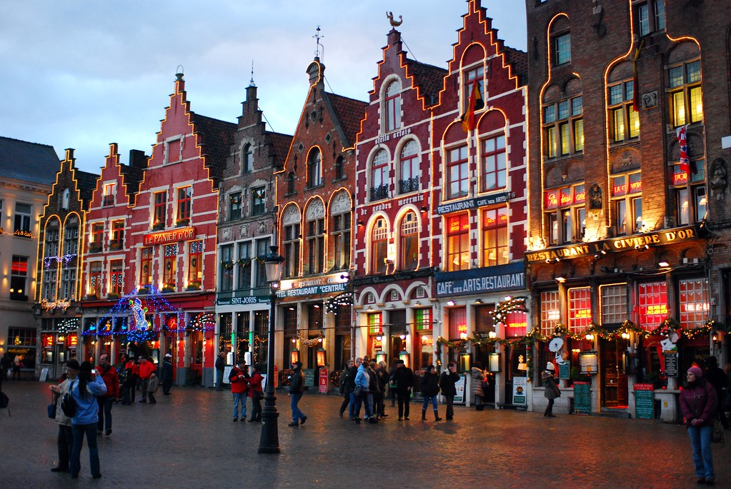 Markt on Christmas
