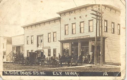 N. Side Dows St. W. Ely Iowa