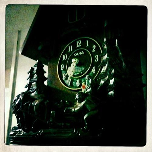 6/365 : Cuckoo Clock