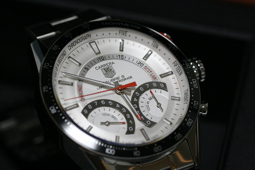 TagHeuer Carrera CalibreS Laptimer Retrograde