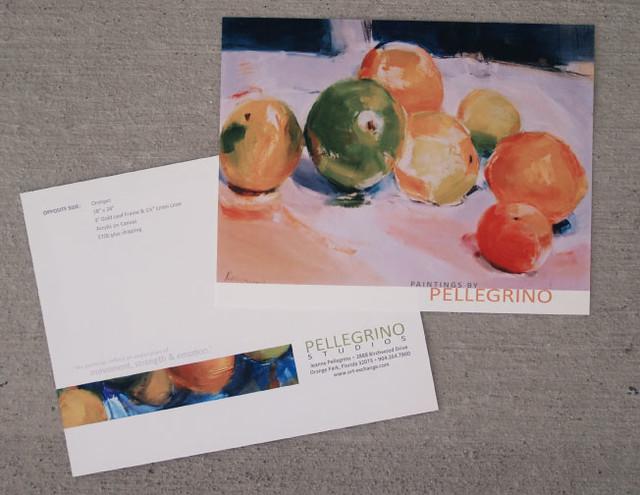 Pellegrino Studios Direct Mailer