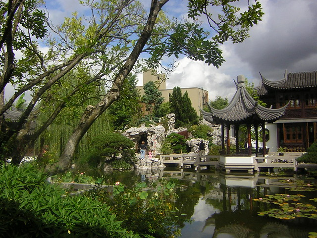 Classical Chinese Garden Portland Oregon Flickr Photo Sharing