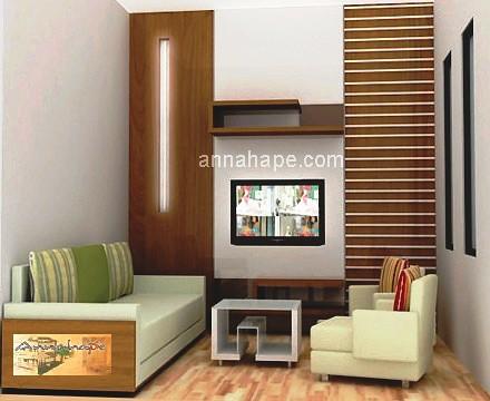 Gambar Desain Interior on Desain Ruang Keluarga   Ruang Tamu Apartemen   Rumah Tipe 45  70  90