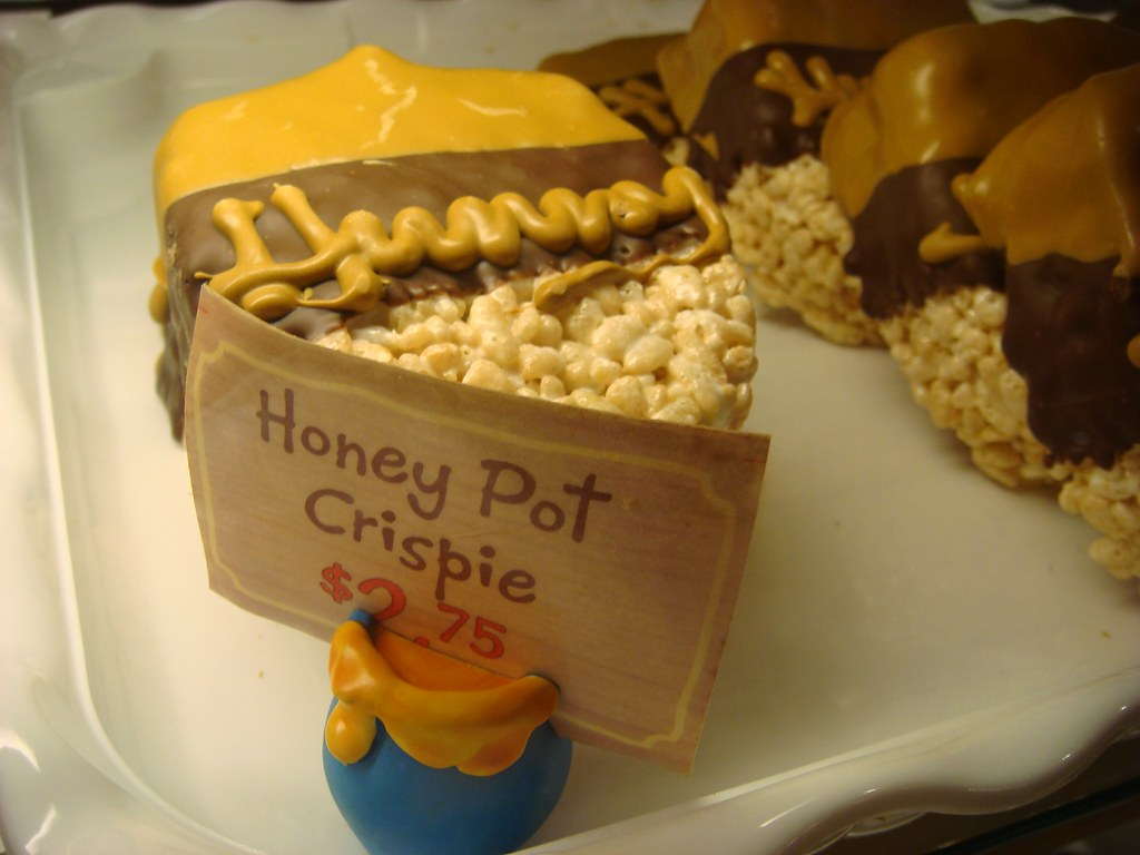 Honey Pot Crispy at Disneyland