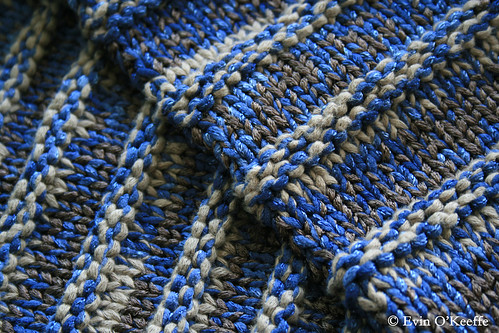 Close-up of Trench Scarf