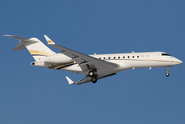 OE-IEL - GLEX - Tyrolean Jet Services