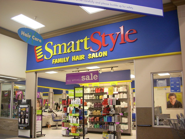 SmartStyle A SmartStyle Family Hair Salon Inside Of A Wal