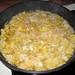 Tortilla de patatas preparation