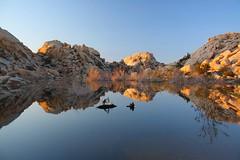 Barker Dam Reflections
