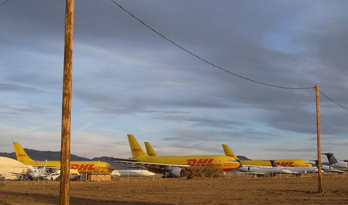 arizona abandoned airplanes airbus dhl kingman a300 kingmanairport