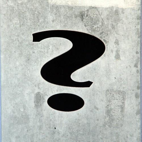 Capitol Hill Question Mark (Washington, DC)