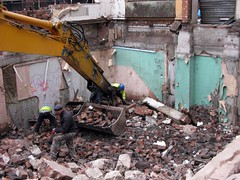 rubble, vehicle, demolition, waste,