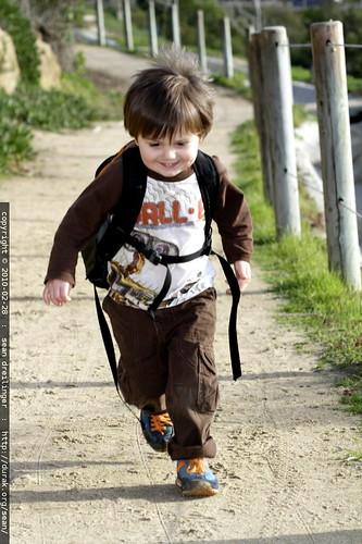 junior trail runner