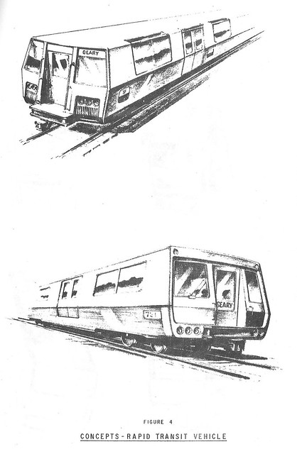 Muni Rapid Transit Vehicle Concepts (1966)