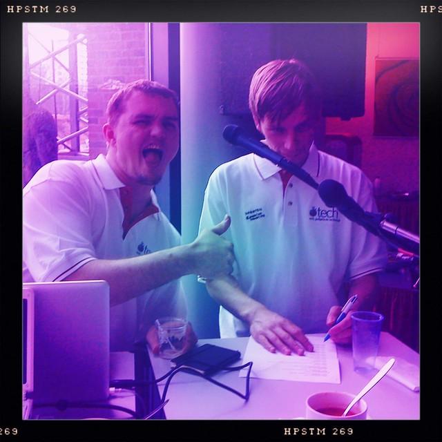 De hosts van @tech45cast @maartenhendrikx en @stefaanlesage